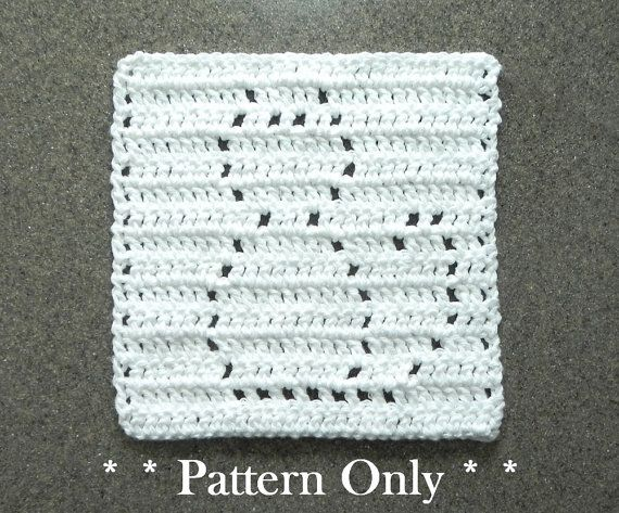 Crochet CAT Pattern for Baby Blanket Square by AuntSusansCloset