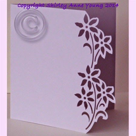 Shirley's Cards: Flower Card FREE cut file