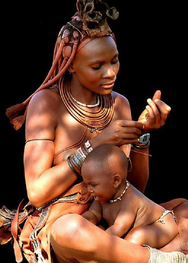 #african #woman #mother #baby