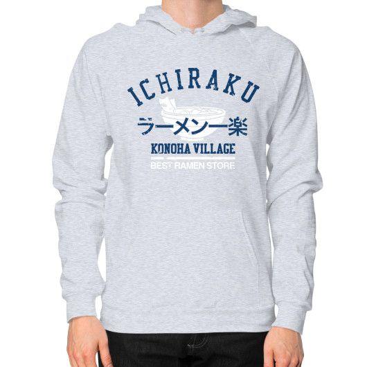 Ichiraku ramen Hoodie (on man)
