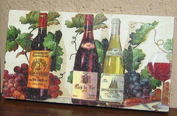 targa per la cantina dei vini