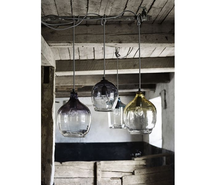 Hanglamp 'BUBBLE' Nordal paars