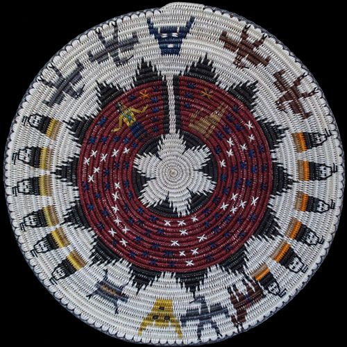 Traditional Native American Basket Weaving : Best traditional hopi pottery images on