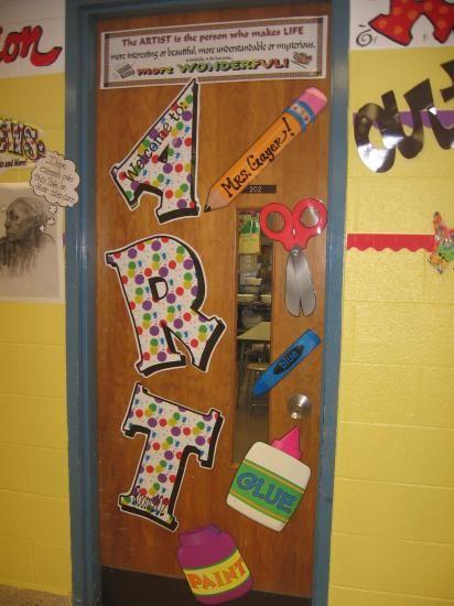 Art-Room-Door.JPG & 26 best Art Room Doors images on Pinterest | Art rooms Art room ... pezcame.com