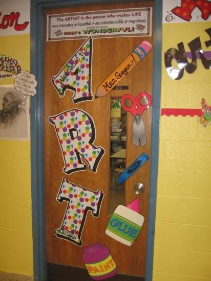 Music Classroom Wall Decorations ~ Best images about art room doors on pinterest