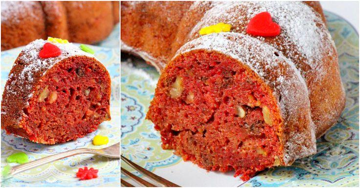 """Astăzi echipa Bucătarul.tvvă oferă o rețetă inedită de chec cu sfeclă roșie și nuci. Acest chec este un desert sănătos, deosebit de gustos, foarte frumos și aromat. """"Checul cu sfeclă roșie și nuci"""" are o textură ușor umedă și o culoare foarte intensă, asemănătoare cu celebrul tort """"Red velvet"""", iar combinația denuci și condimente ne …"""