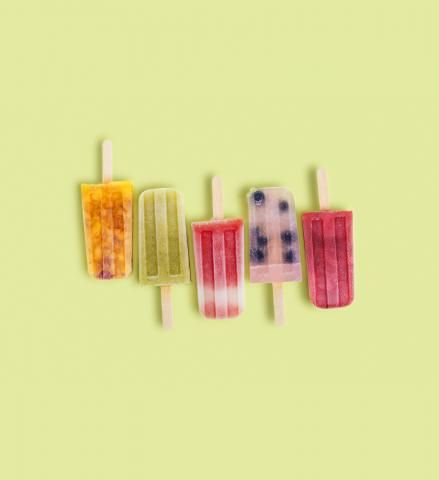 5 Boozy Ice Pops That Will Get You Buzzed | Fun frozen cocktails-on-a-stick make a playful addition to any summer party or Saturday afternoon. These five delicious versions are easy to make—and even easier to devour.