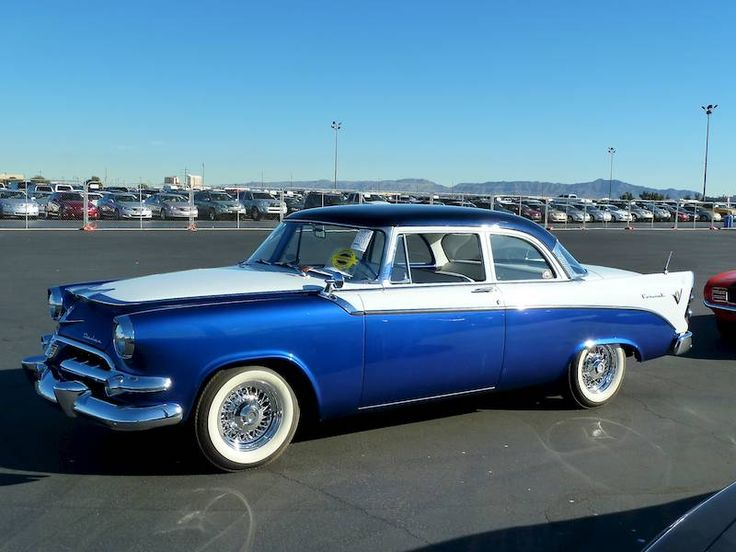 1956 Dodge Coronet, the older cars have a style and class that none of the new vehicles today have! Our first car after we were married.  We called it Glad Ass. Not exactly the same colour, but close