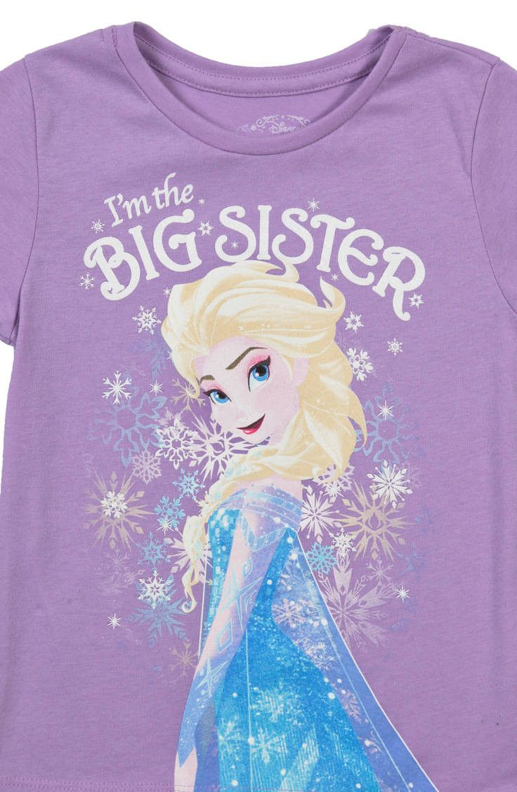 Big Sister Elsa Frozen Shirt