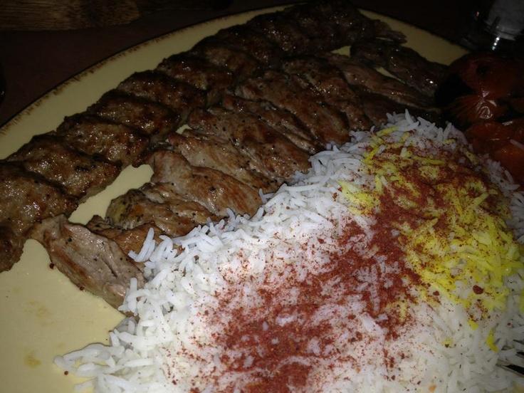 Sultani Kabab - Persian Food at Gilani restaurant Toronto 2012