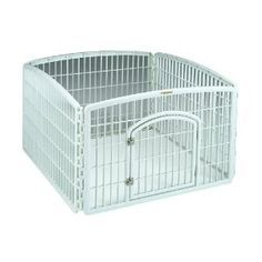 dog pen, good for puppies inside at home alone