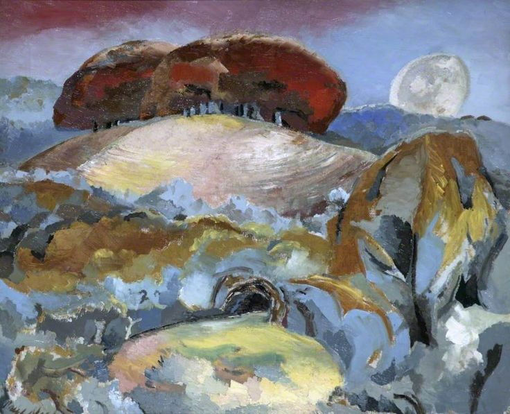 Paul Nash - Landscape of the Moon's Last Phase