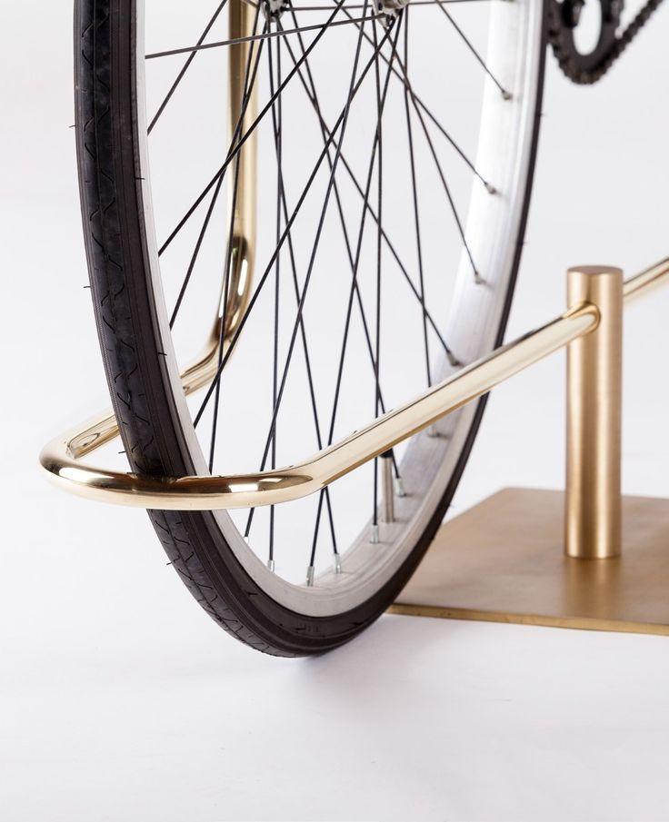 Metal Bicycle rack BI-TRACK by @MingardoDF  Designer Faber design Masanori Mori