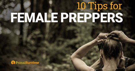 10 Tips for Female Preppers