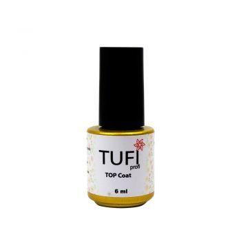 Топ TUFI Profi Top Coat - верхнее покрытие для гель-лака, 6 мл #nails #nail #shellacnails #shellac #шеллак #маникюр #gellak #гельлак #tufiprofi #tufishop