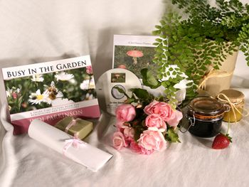 Give a DVD Movie IN THE GARDEN and Picture Book BUSY IN THE GARDEN - Support the lasting gift of a movie or book by adding these sensory gifts to support engagement and reminiscence for a person in care. Judi Parkinson Activities  http://sharetimepictures.com.au/GIFTS.php