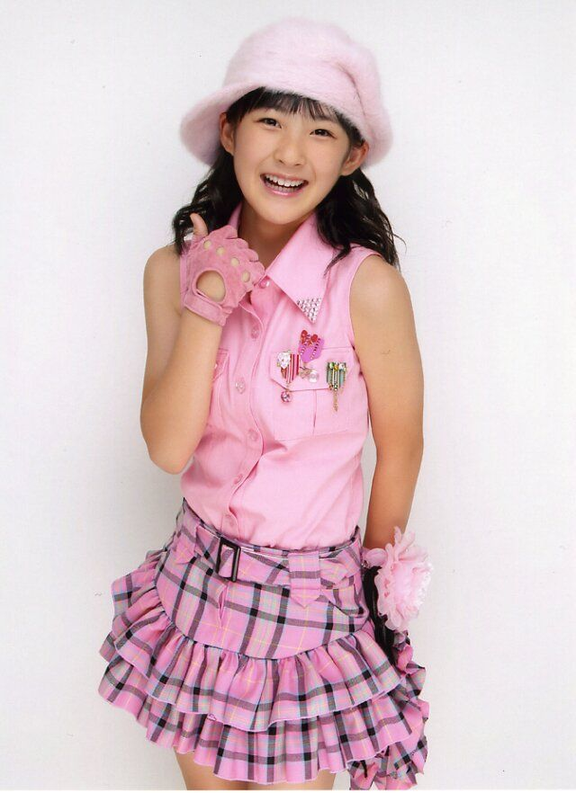 Cute little Momoko Tsugunaga