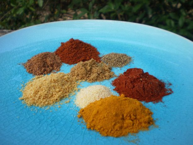 Seasoned UN-Salt: This blend comes close to the flavors in the typical seasoned salt blends like Lawrys, without the sodium. Use it where seasoned salt is called for or when you want to give food a little extra flavor. This is really good on eggs and soups! Adapted from Low Sodium Cooking. This would also make a good gift!