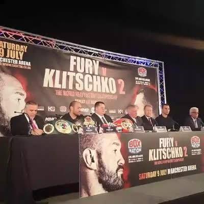 LIVE: Tyson Fury vs Wladimir Klitschko 2 Press Conference