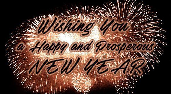 Happy New Year Happy New Year Animation Happy New Year Gif Happy New Year Fireworks