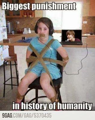 Ew, Justina Bieber is... Ugh, no words