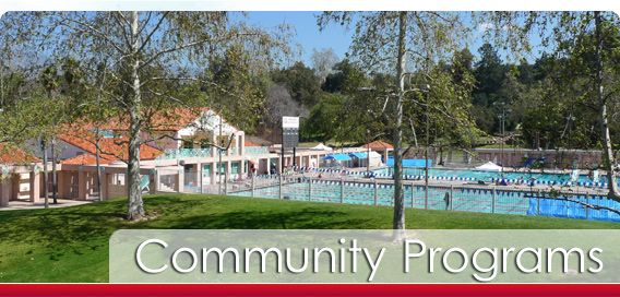 Family Swim, Community Programs, Rose Bowl Aquatics Center, Pasadena, CA