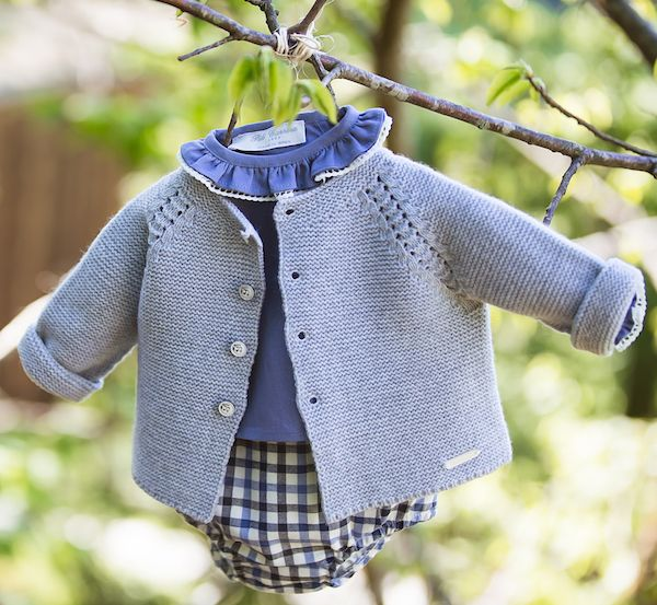 Pili Carrera moda bebé e infantil otoño-invierno