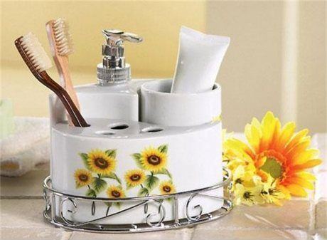 228 Best Images About Sunflower Bathroom Toilet On