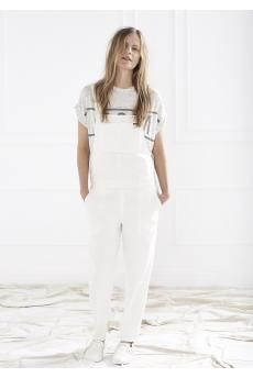 Chrissy Hynde Tee and Brooklyn Overalls by C&M CAMILLA AND MARC
