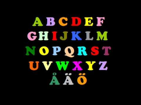 Learn Swedish: The Alphabet