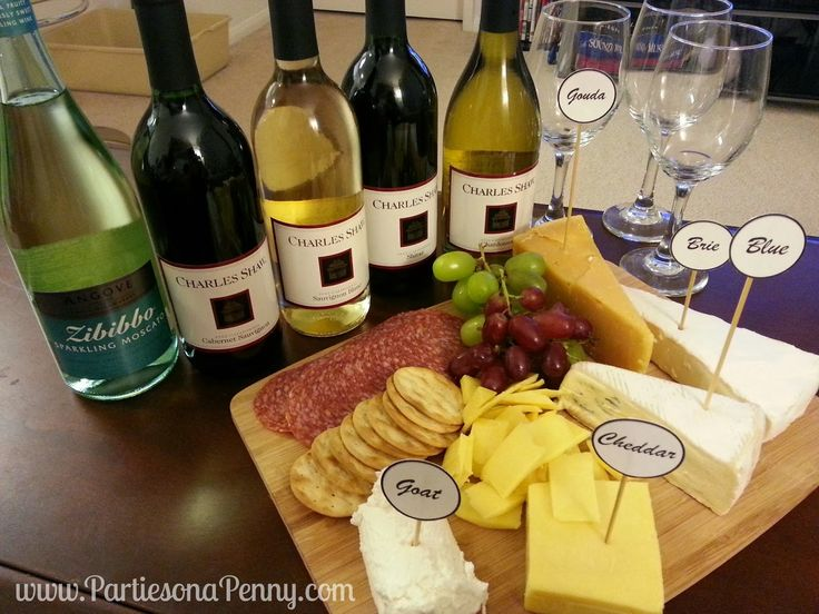 Parties On A Penny: Wine and Cheese Pairing with Two Buck Chuck