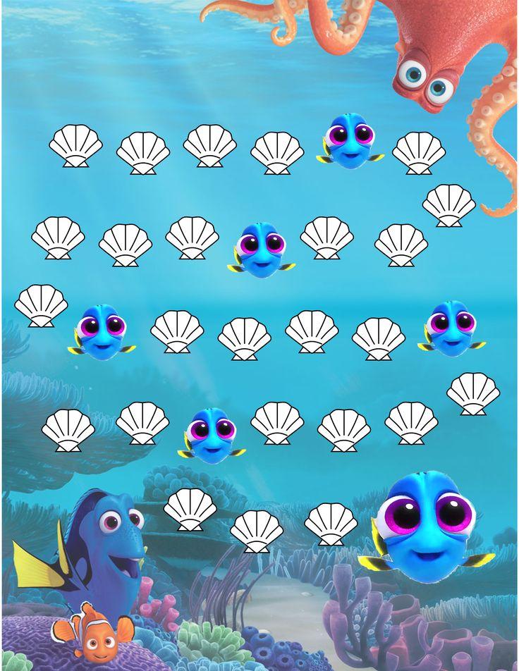 Finding Nemo/Dory Potty Sticker Reward Chart                                                                                                                                                                                 More