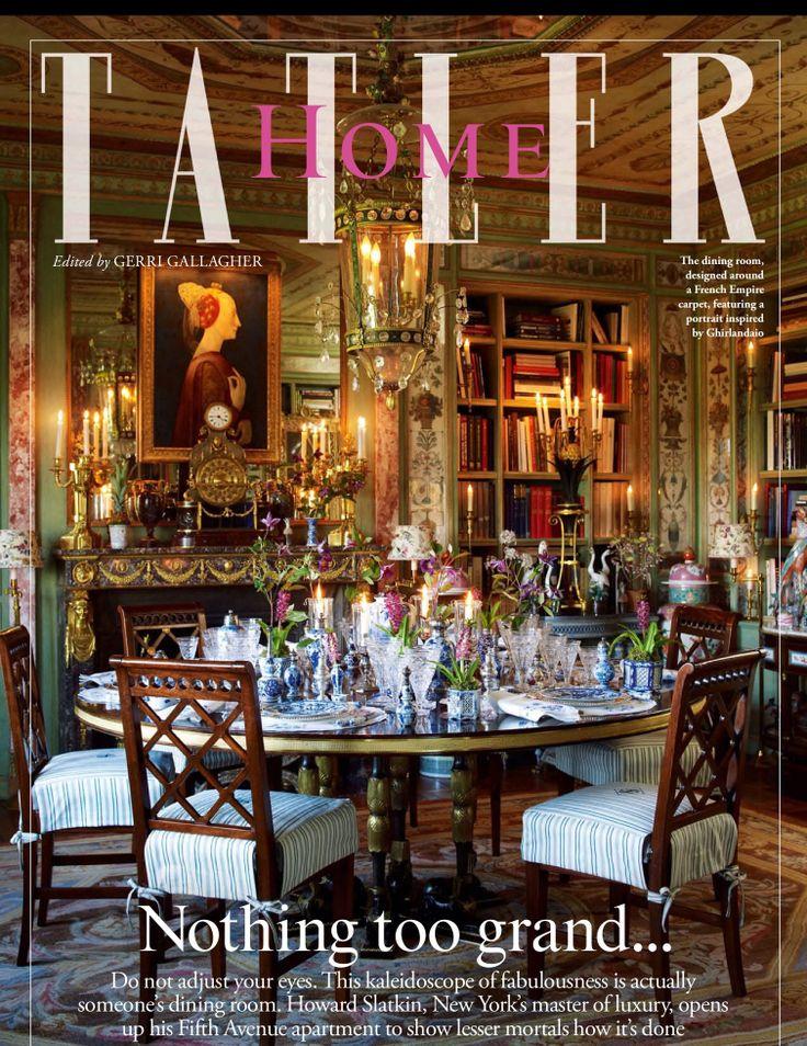 Tatler Magazine Best Tea Rooms