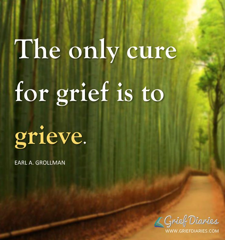 There is no cure but the knowledge that we shall see all of our loved ones who…