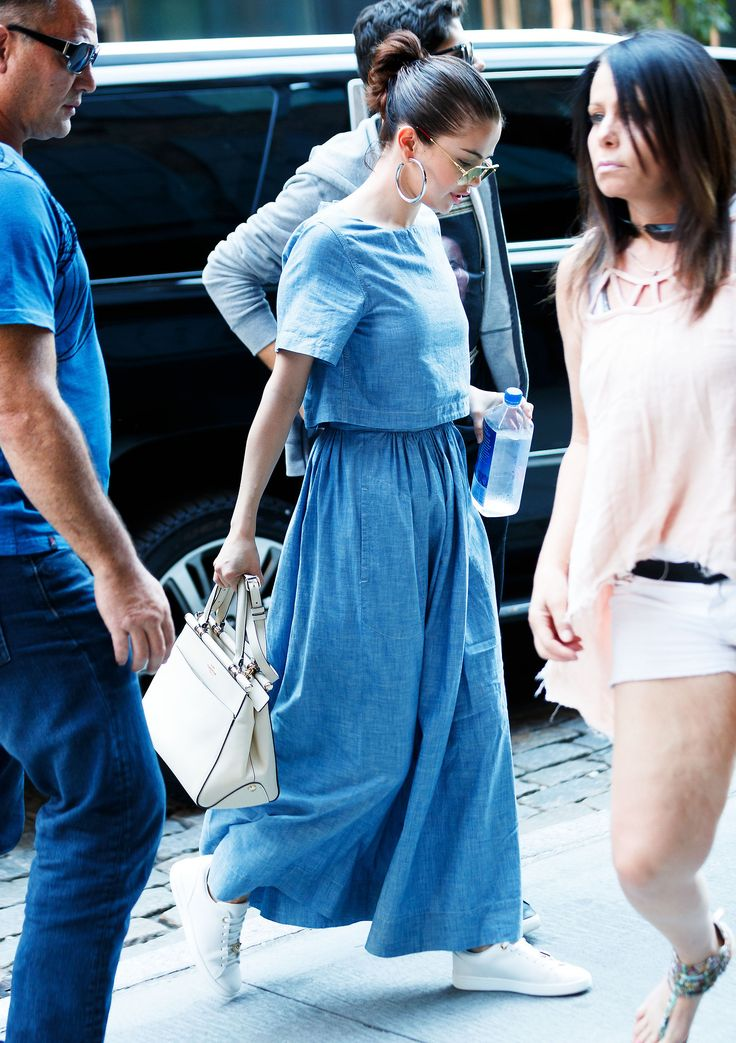 September 24: Selena out in New York, NY