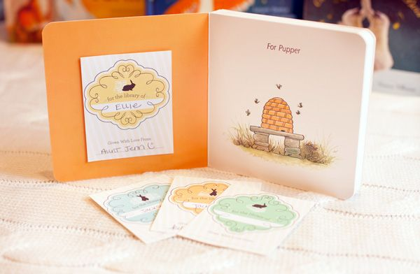 10 Creative Children's Book Themed Baby Shower Ideas + Free Printable Quiz & Bookplates