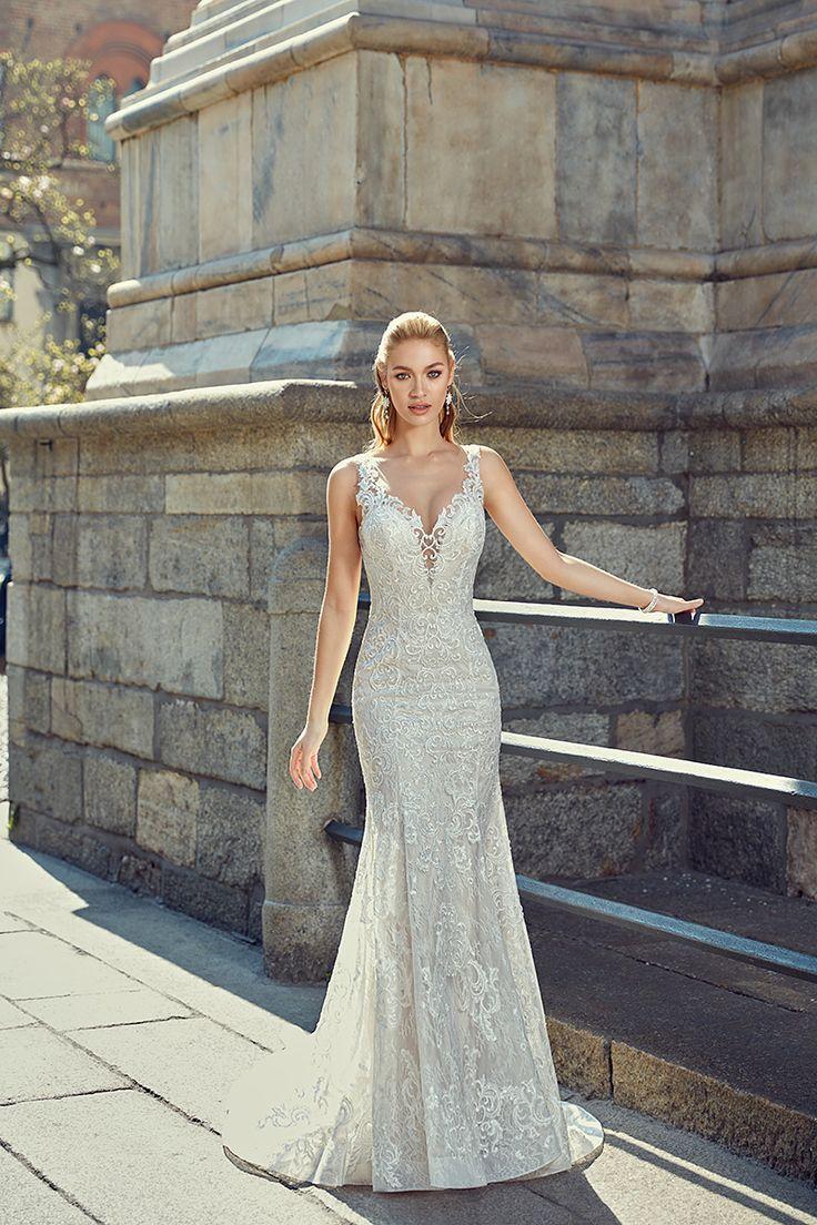 72 best Eddy K Milano images on Pinterest | Wedding frocks, Wedding ...