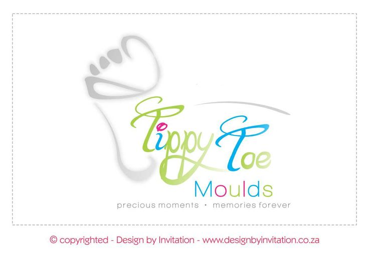 Corporate Logo Design - Tippy Toe Moulds © www.designbyinvitation.co.za