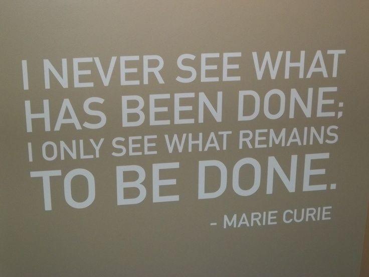 quotes marie curie | Marie Curie Quotes. QuotesGram