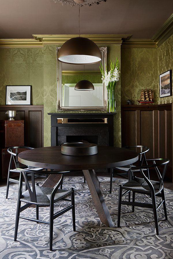 71 best Interiors Diningroom images on Pinterest Dining room