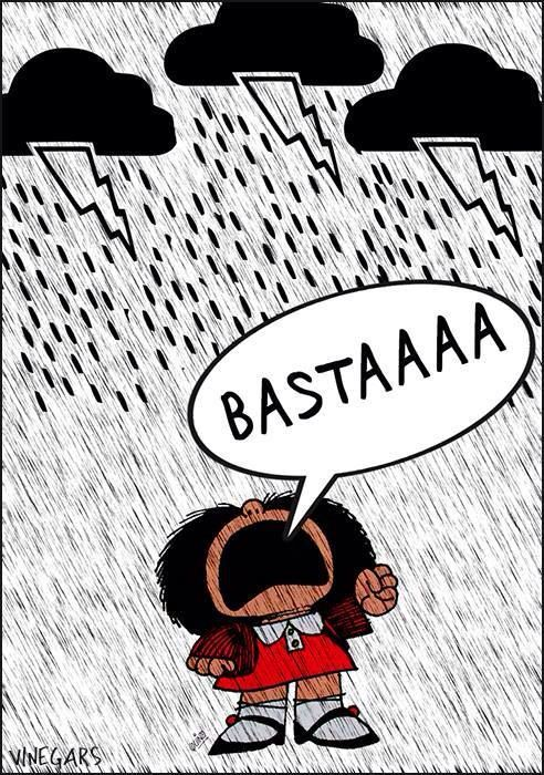 Learning Italian - Basta!  Enough