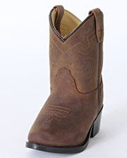 Smoky Mountain Kids' Oiled Brown Boots - Toddler - www.fortwestern.com
