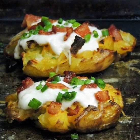 Bobbi's Kozy Kitchen: Fully Loaded Crash Hot Potatoes