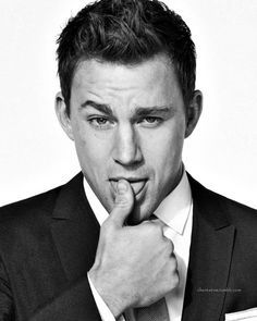 channing tatum poster black and white - Google Search