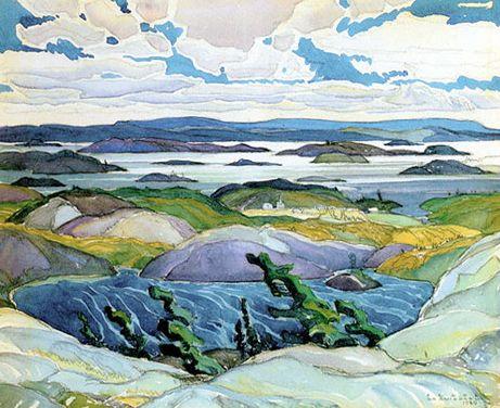 Franklin Carmichael - Bay of Islands II