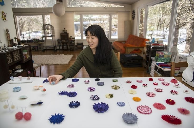 Mariko Kusumoto: Metalsmith to Fiber Artist | Fiber Art Now