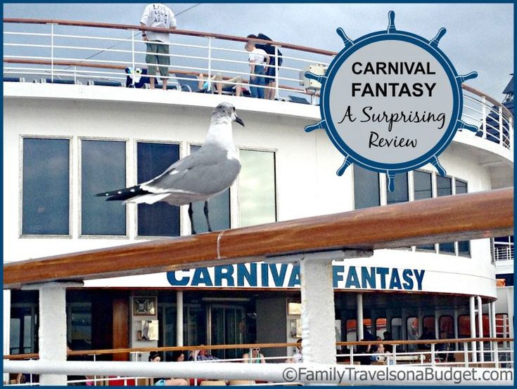 Don't Judge a Book by its Cover - A Review of the Carnival Fantasy.