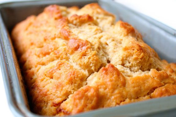 This is my favorite beer bread recipe!  Amazing flavor, plus it only takes 10 minutes to prep. | gimmesomeoven.com