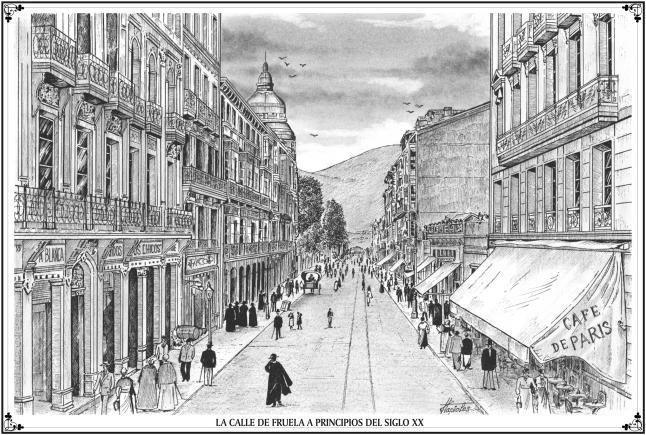 La barredora mecánica  Oviedo 6 de julio de 1908  Grande fue la expectación que ayer tarde causó la maquinilla infernal que un desaliñado empleado empujaba por la calle Fruela; fue el acontecimiento del día. Los amantes de la música que estaban disfrutando en el Café París con los acordes de la bellísima fantasía de Aida fueron sorprendidos por los estruendos y retumbos de tan escandalosa máquina. Ni cortos ni perezosos salieron a las puertas del café y al igual que si estuvieran en el…