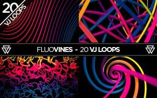 FluoVines 20 VJ Loops Pack